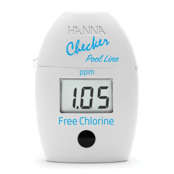 Checker-fotometer vrije chloor HI7014