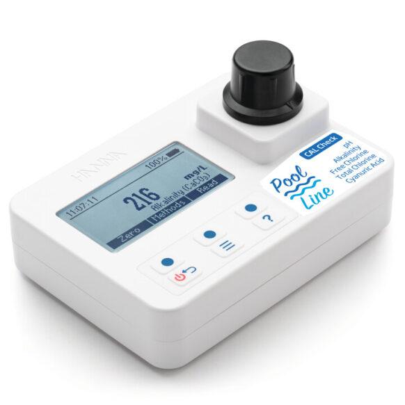 Fotometer alkaliniteit, vrije/totale chloor, pH en cyanuurzuur HI971044