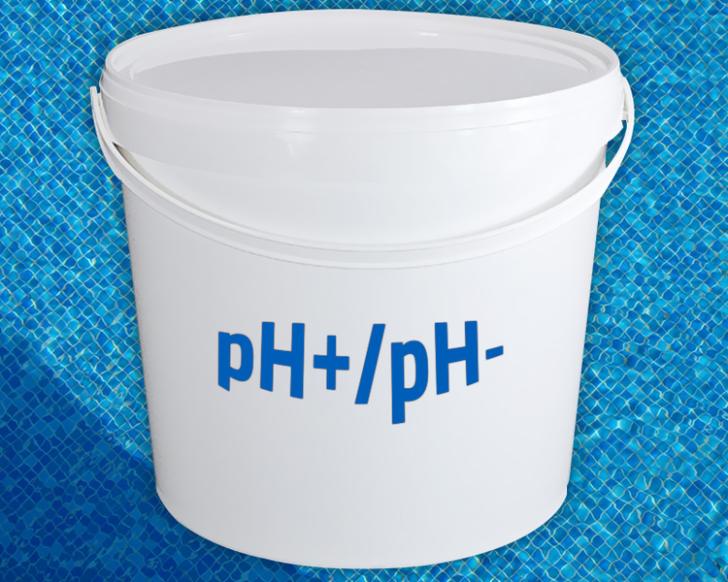 Toevoegen pH minus heeft geen invloed op mijn zwembad?